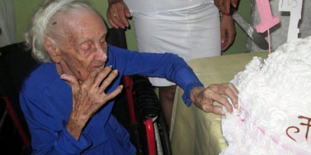 Anciana celebra 105 años y desea saludar  al presidente Danilo antes de morir