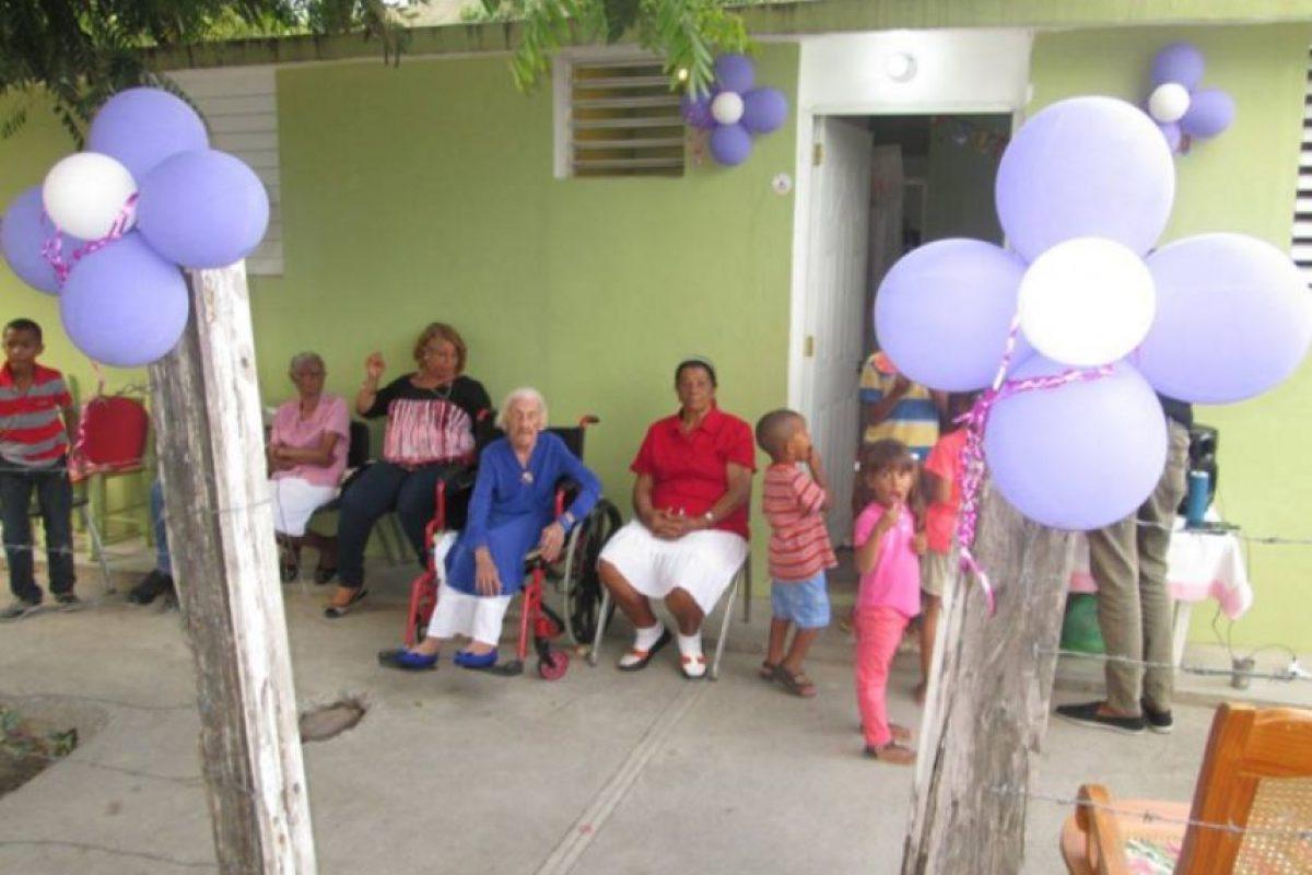 La anciana de 105 años vive en Bohechio