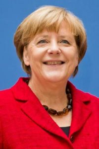 Díaz y Merkel, dos insignes representantes. Foto:Archivo