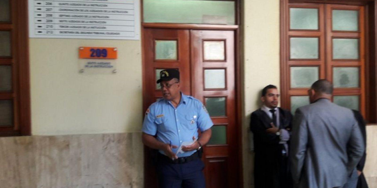Juzgado donde se conocerá la audiencia contra Blas Peralta y cómplices Foto:Fuente Externa