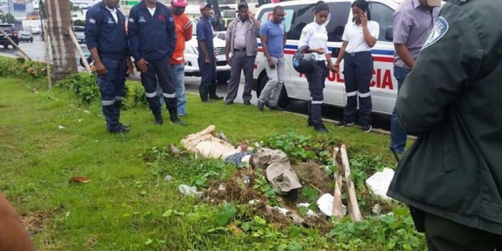 Cadáver encontrado en la 27 de Febrero Foto:Fuente Externa