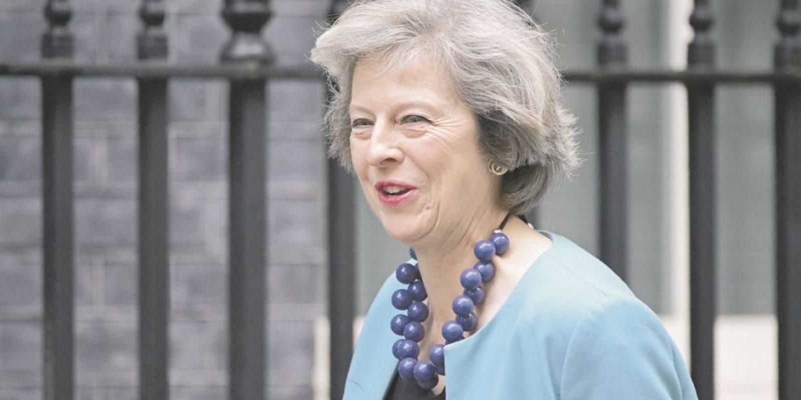 Theresa May, aspirante a suceder a David Cameron como primer ministro de Gran Bretaña. Foto:AFP