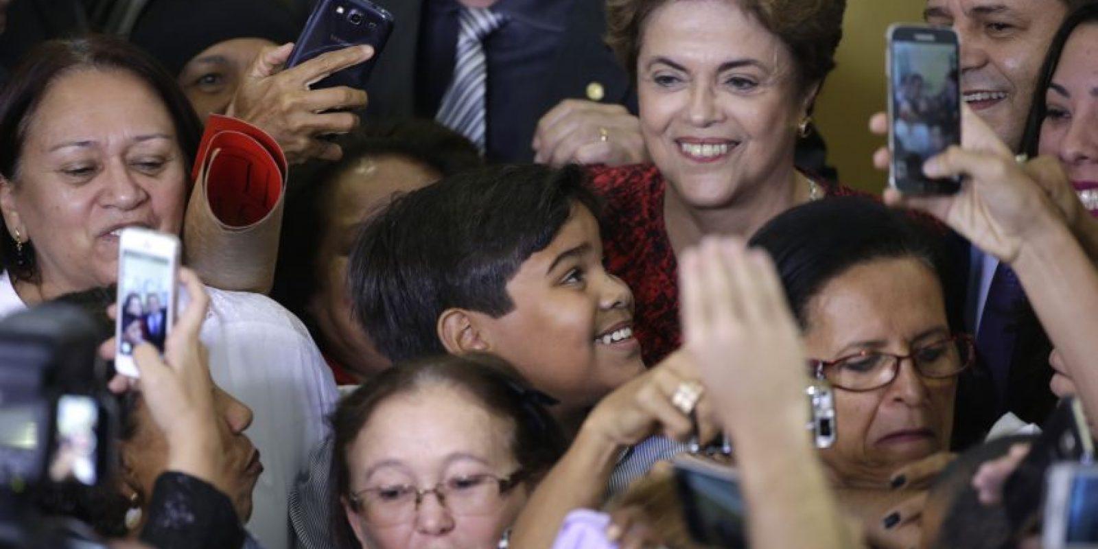 Dilma espera cumplir su mandato hasta el 1 de enero de 2019. Foto:EFE