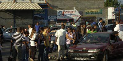 En las calles del Gran Santo Domingo se observa el retorno a las labores contidianas, de manera particular en el tránsito Foto:Roberto guzmán