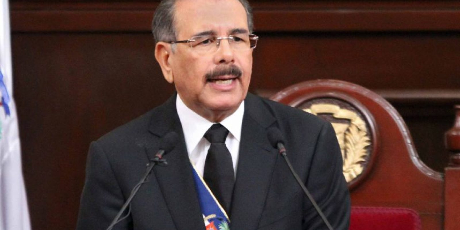 Danilo Medina Foto:Archivo