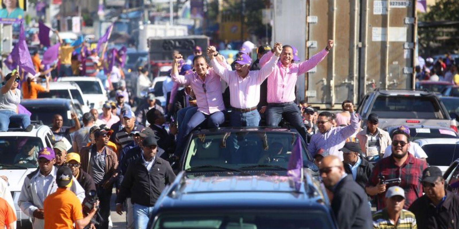 Continúan las acusaciones sobre la utilización de los fondos del Estado en campañas de Medina Foto:Fuente Externa