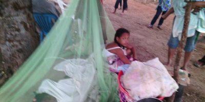 Las viviendas en Villa Guerrero quedaron totalmente destruídas. Foto:Fuente Externa