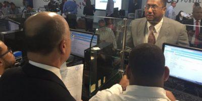 Domínguez Brito inaugura servicio  digital expedición de no antecedentes penales
