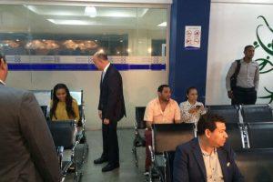 Francisco Domínguez inaugura servicio digital de no antecedentes penales Foto:Fuente Externa