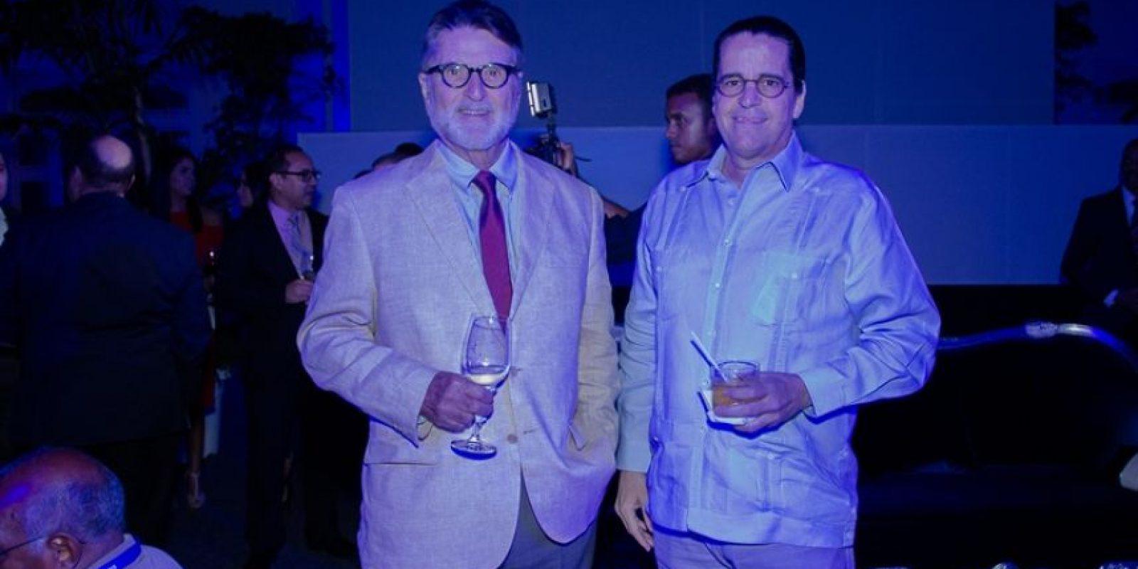 Federico Schad, Miguel Ángel Muñiz. Foto:Fuente externa