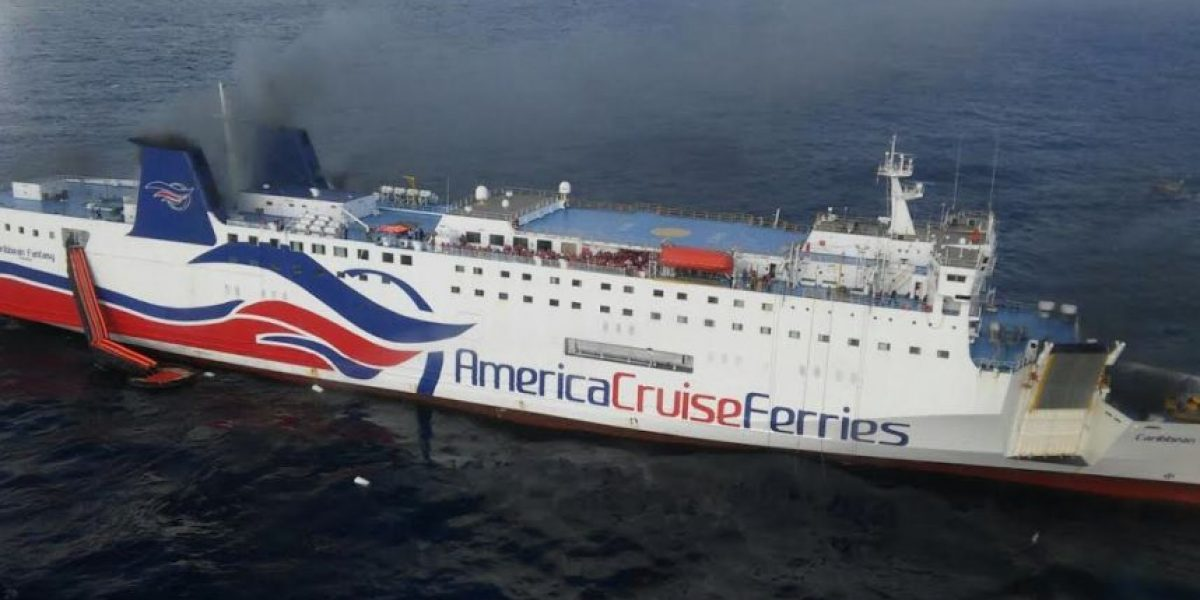 Guardia Costera otorgó recientemente certificado para operar ferry incendiado