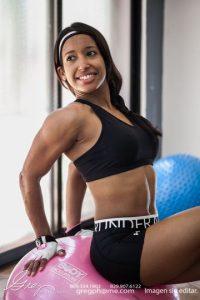 Verónica Minaya ha hecho de los ejercicios y la alimentación sana su estilo de vida Foto: