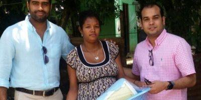 Fundación Morada entrega canastas a embarazadas en el país