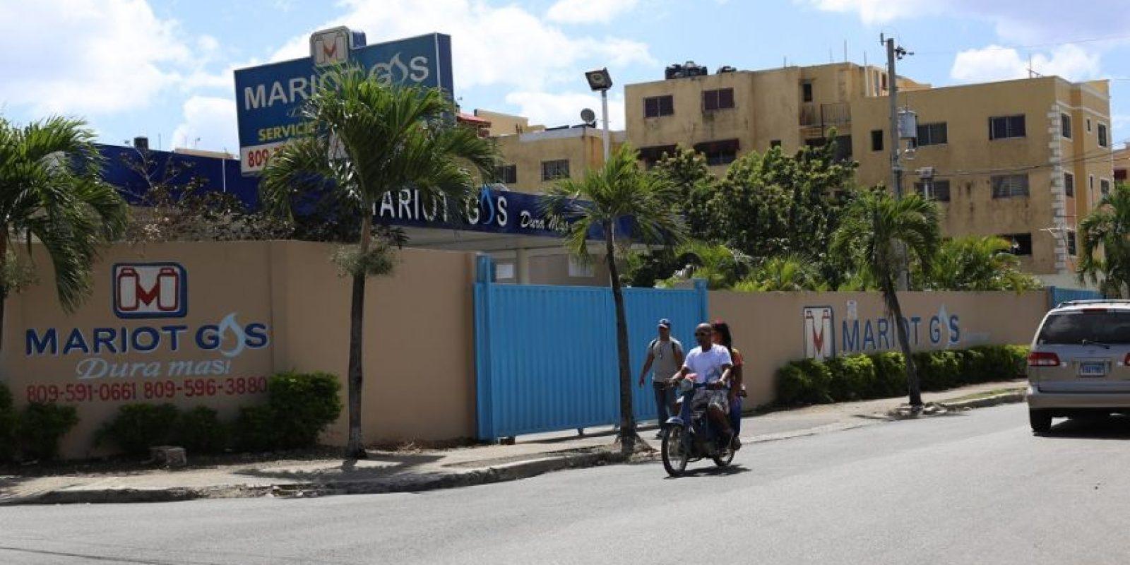 Mariot Gas, Antillano Gas, Hilda Gas, Coopegás y Rojo Gas se encuentran en un mismo perímetro residencial. Foto:ROBERTO GUZMÁN