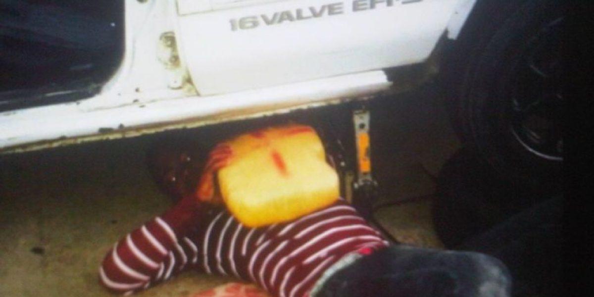 Apresan hombre transportaba droga dentro del tanque de gasolina