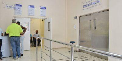 Emergencia del Hospital Foto:Mario de Peña