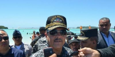 Jefe de PN presenta condolencias familiares raso murió arrollado Bávaro