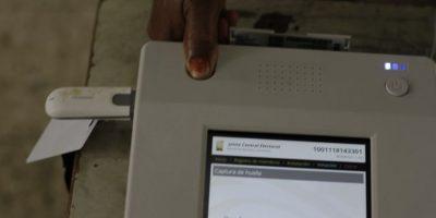 Los escáneres permitieron el monitoreo del porcentaje de concurrentes a cada hora. Foto:Roberto Guzmán