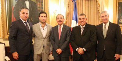 Medina se reúne con empresarios que construirán hotel Hard Rock en Santo Domingo