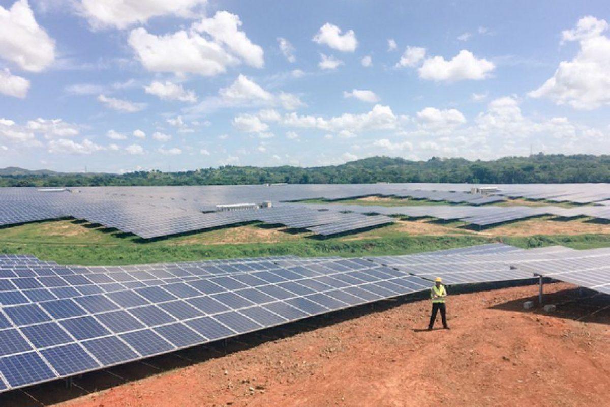 Proyecto fotovoltaíco en Monte Plata Foto:Fuente Externa