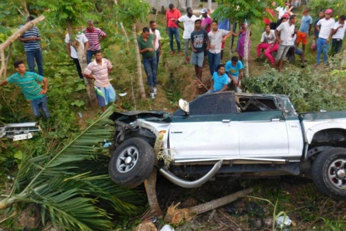 Así quedó la camioneta Foto:fracomacorisanos.com