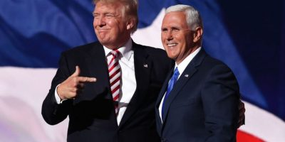 Mike Pence y Tim Kaine se verán las caras en un debate. Foto: Getty images