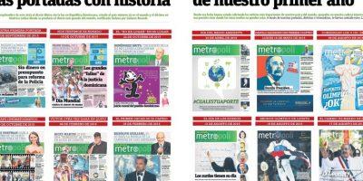 Las portadas con historia de nuestro primer año