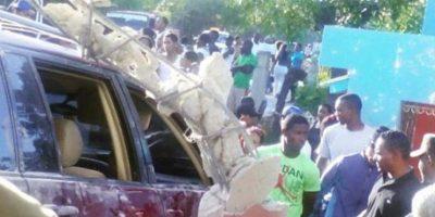 Accidente donde murió uno de dos policía Foto:Fuente Externa