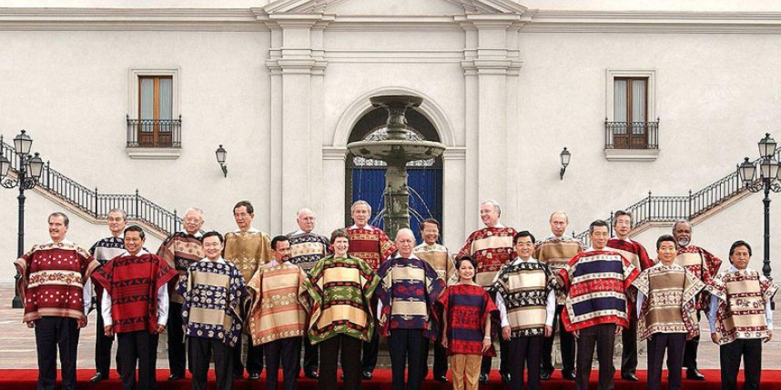 Y Chile celebró la cumbre entre el 20 y el 21 de noviembre de 2004 en Santiago Foto:Wikimedia.org