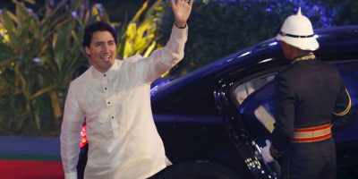 El primer ministro canadiense Justin Trudeau. Foto:AP