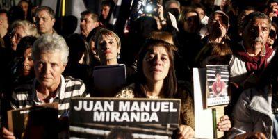 Miles de personas marcharon contra la inseguridad en Argentina Foto:AP