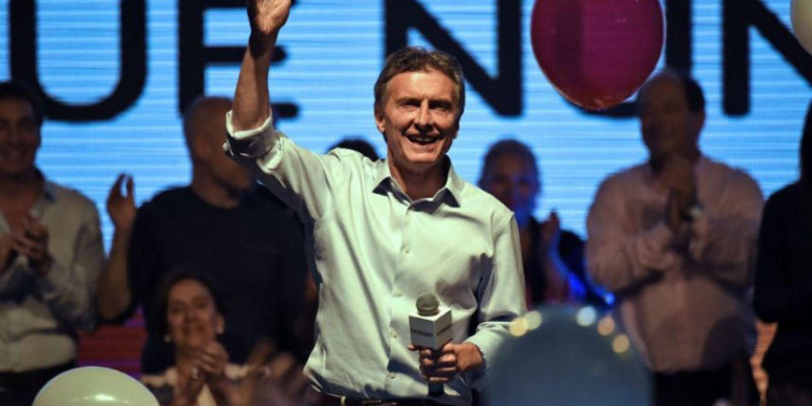 Mauricio Macri es el favorito para estas elecciones. Foto:AFP