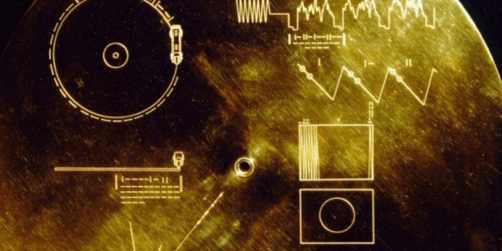 Las misiones Voyager de 1977 y 1979 tenían uno de estos. Foto:Wikimedia.org