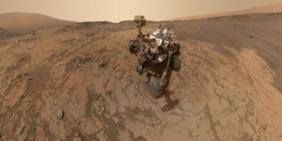 En la película, los astronautas requieren de un hábitat necesario para la exploración Foto:NASA