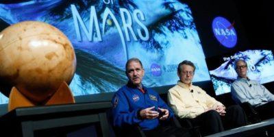 Aunque se descubrió que existió agua líquida en Marte, aún no se han descubierto lagos o mares en el planeta Foto: NASA