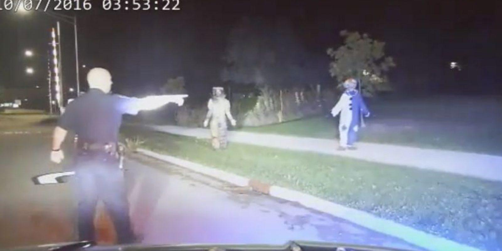 La pareja estaba aterrorizando a personas Foto:Menasha Police Department i