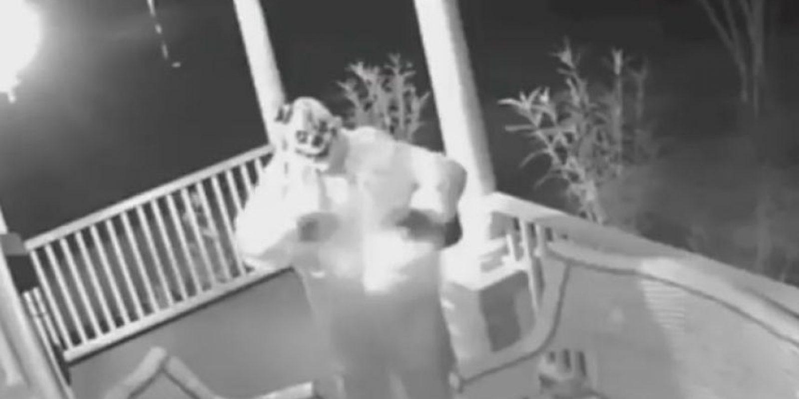 """El caso de los """"creepy clowns"""" llegó a la Casa Blanca Foto:Twitter"""