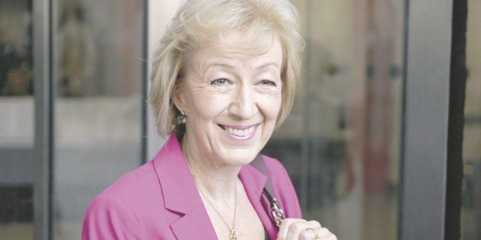 Andrea Leadsom, aspirante a suceder a David Cameron como primer ministro de Gran Bretaña. Foto:AFP
