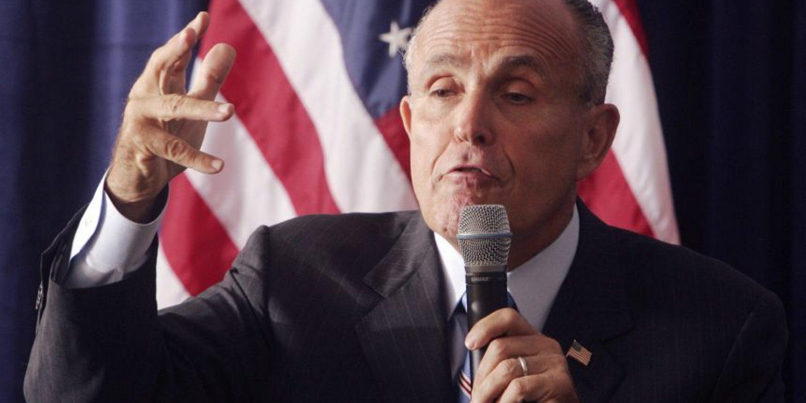 Rudolph Giuliani será el asesor de seguridad ciudadana de Abinader. Foto:Fuente Externa