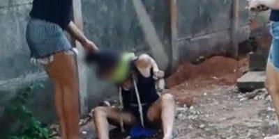 Logró escapar y pedir ayuda a un vecino Foto:Policía Civil