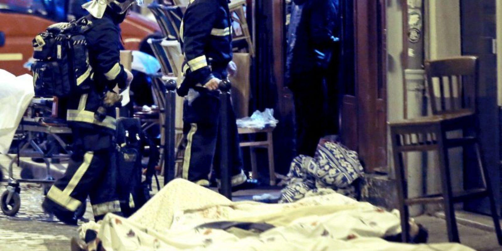 """3. """"No destruirán a la República. La República destruirá al terrorismo"""", agregó. Foto:AP"""