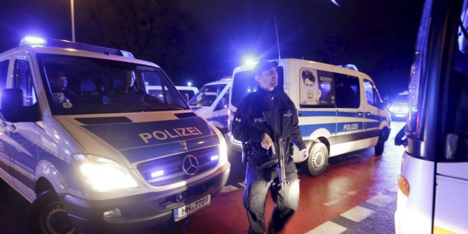 La policía llegó al lugar Foto:AP