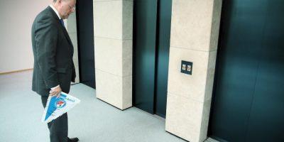 En abril de 2008, Nicolas White se quedó atrapado en un elevador durante 41 horas Foto:Getty Images