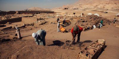 El hallazgo se realizó en el pueblo sureño de Luxor Foto:Getty Images