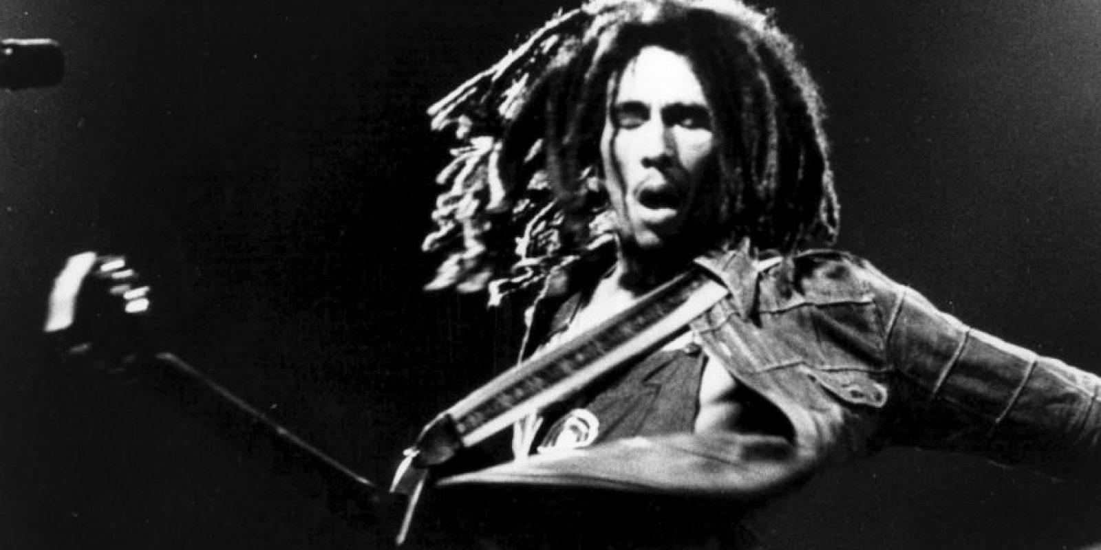 Bob Marley nació el 6 de febrero de 1945 Foto:Getty Images