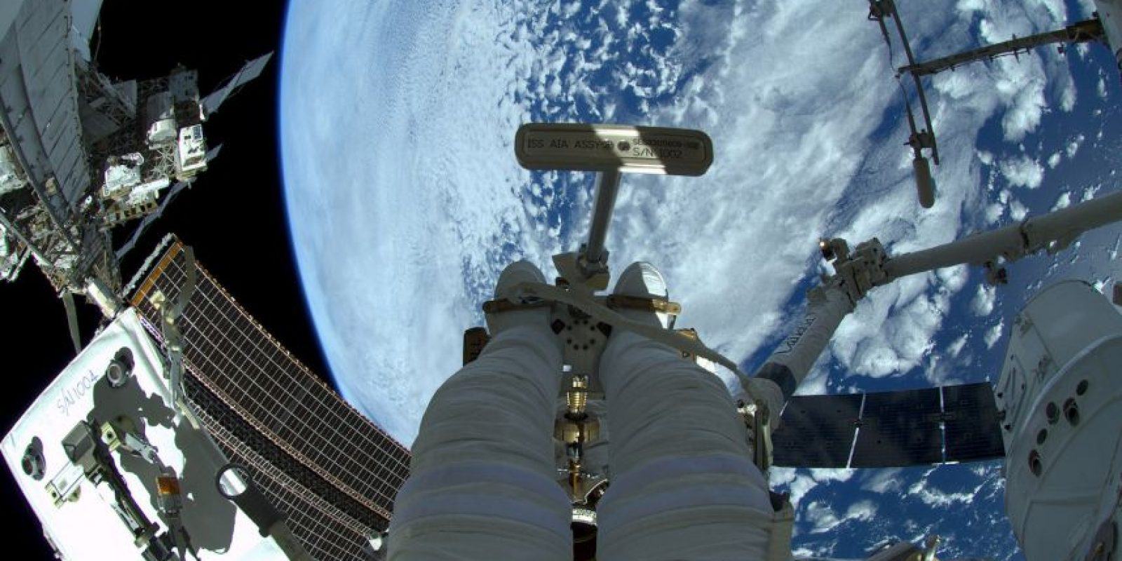 Se encuentra a más de 400 kilómetros de la Tierra Foto:Getty Images