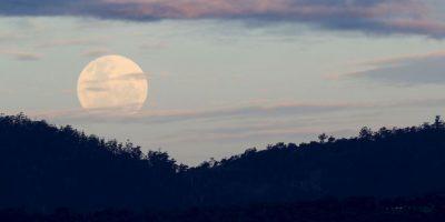 Así comenzó a verse en Australia hace unas horas Foto:Getty Images