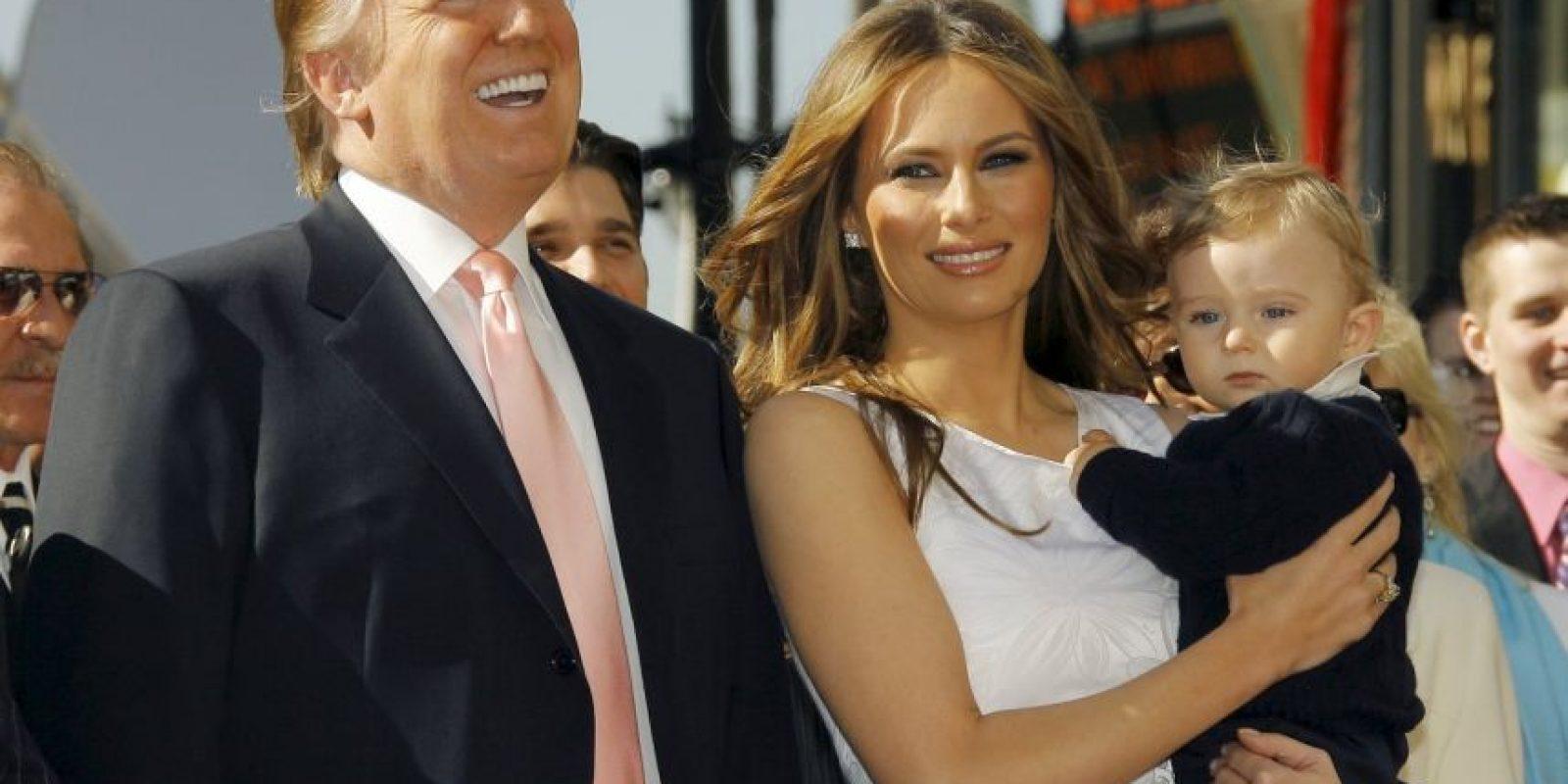 Estuvo acompañado por su esposa Melania Trump Foto:Getty Images