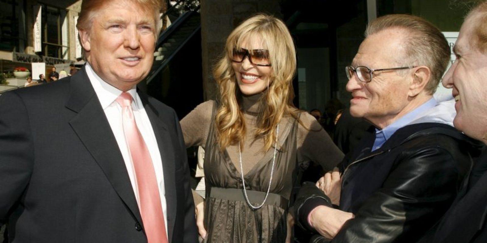 A la ceremonia también asistió Larry King, presentador estadounidense Foto:Getty Images
