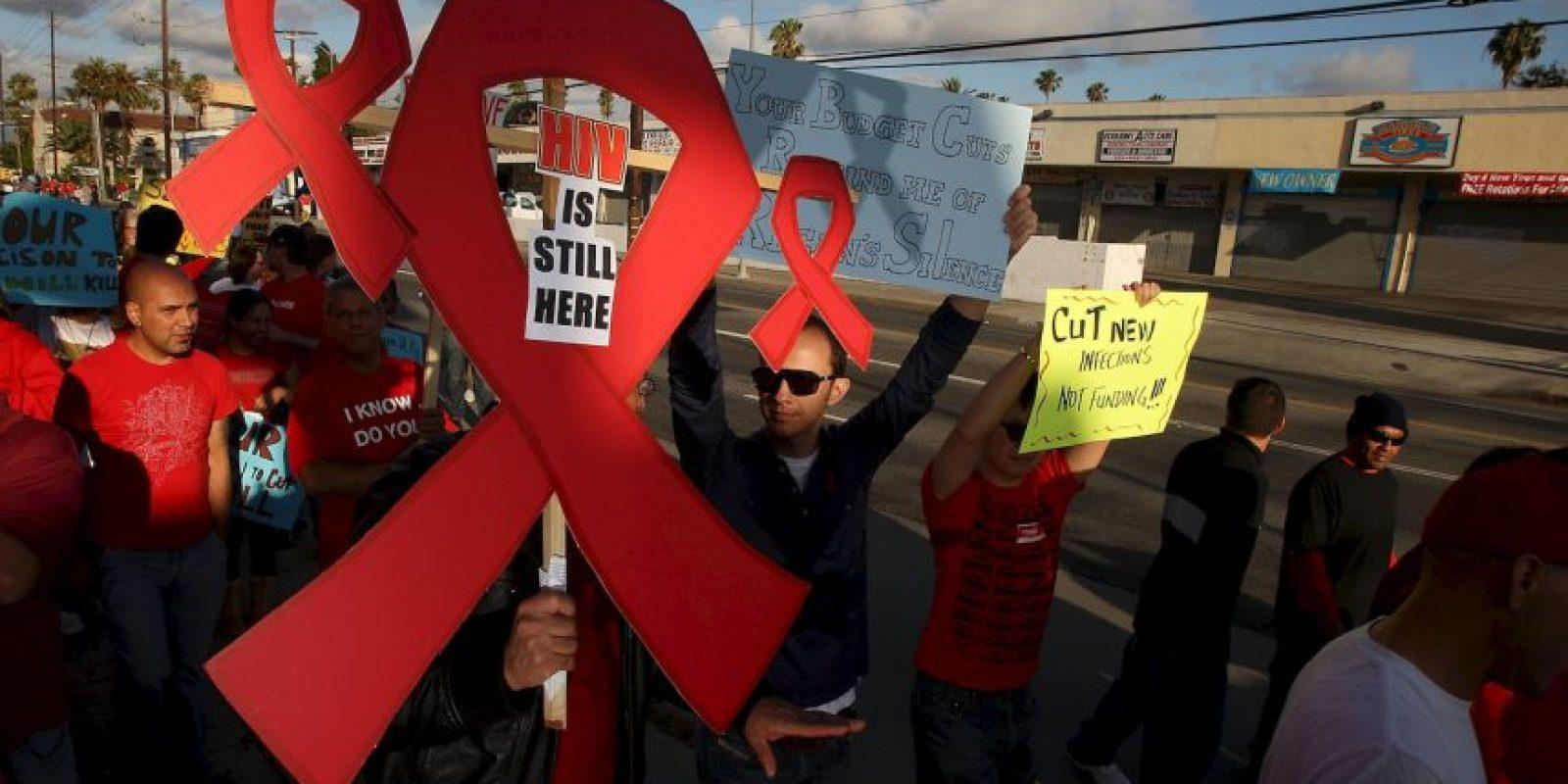 Se calcula que solo el 54% de las personas con VIH conocen su estado Foto:Getty Images